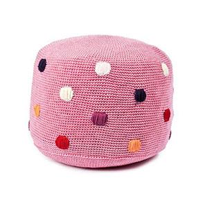 Pink Dot Pouf