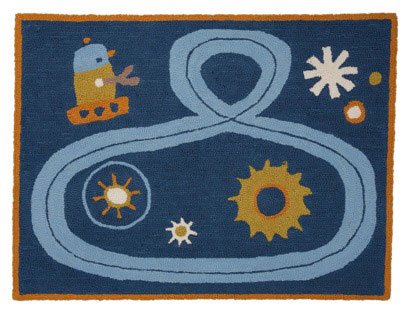 Robot Rug by Lolli Living