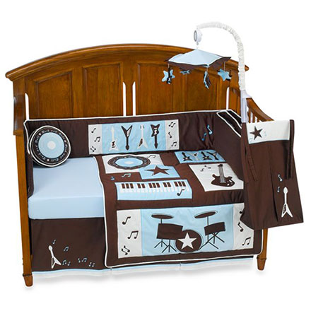 Rock and Roll Bedding Set